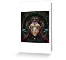 Maikia - Mystic Guardian Of Evxlore Greeting Card