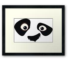 Kung Fu Panda - Po Framed Print
