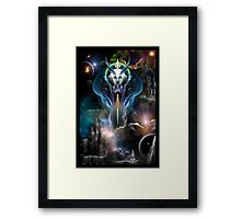Thera Queen Of The Galaxy Framed Print