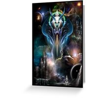 Thera Queen Of The Galaxy Greeting Card