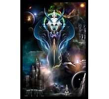 Thera Queen Of The Galaxy Photographic Print