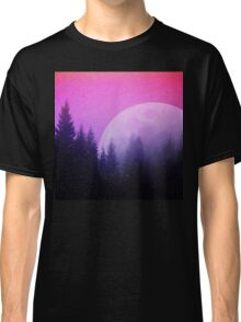 Cosmic Forest & Moon Classic T-Shirt