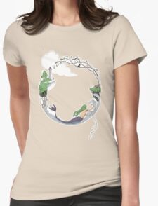 To the lighthouse Womens Fitted T-Shirt