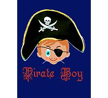 Toon Boy 14 Pirate Boy T-shirt design Photographic Print