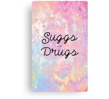 Suggs not Drugs Canvas Print
