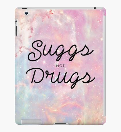 Suggs not Drugs iPad Case/Skin