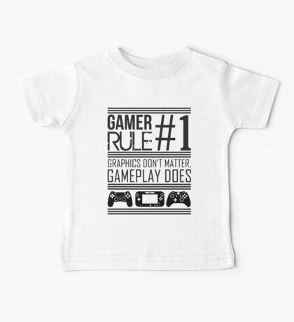 Gamer Rule #1 Baby Tee