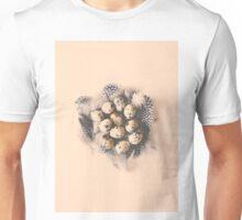 quail eggs nest Unisex T-Shirt