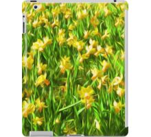 Daffodil Field ( Painting ) iPad Case/Skin