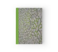 Crazy paving at the castle Hardcover Journal