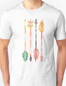 Watercolor Arrows Unisex T-Shirt