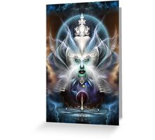 Thera Of Titan Greeting Card