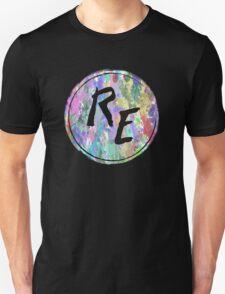 Rough Edit Splatter Logo Unisex T-Shirt
