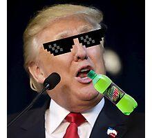 MLG Trump Photographic Print