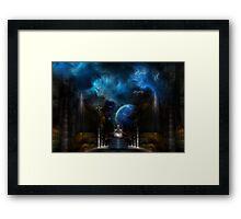 Vision Of Tremilin Framed Print