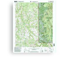 USGS TOPO Map Alabama AL Kinlock Spring 304336 2000 24000 Canvas Print