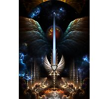 The Angel Wing Sword Of Arkledious Imperial Wings Photographic Print