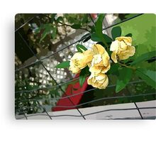 Rosas Amarillas  Canvas Print