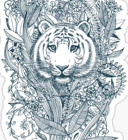 Tiger Tangle Sticker