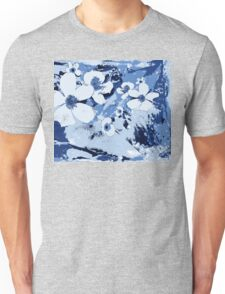 Spring Garden in Blue Unisex T-Shirt