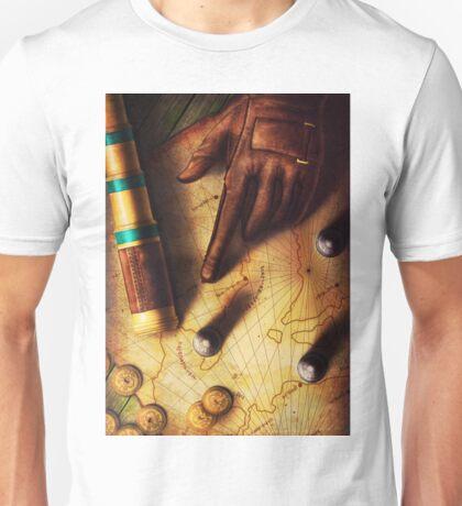 The Journey (Digital Illustration) Unisex T-Shirt