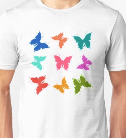 Schmetterlingvariation Unisex T-Shirt