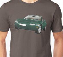 Mazda MX-5 Miata green Unisex T-Shirt
