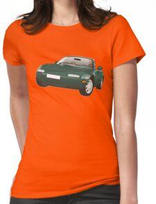Mazda MX-5 Miata green Womens Fitted T-Shirt