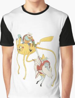 Pokebattle! Come on, grab your friends... Graphic T-Shirt