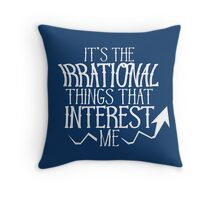 Economics Throw Pillow