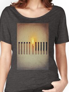 burning alone 2 Women's Relaxed Fit T-Shirt
