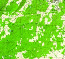 USGS TOPO Map Alabama AL Pell City 304801 1958 24000 Sticker