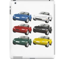Mazda MX-5 Miata yellow iPad Case/Skin