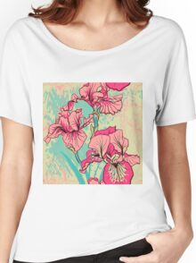 iris flower Women's Relaxed Fit T-Shirt
