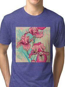iris flower Tri-blend T-Shirt