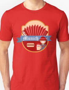 Munich Germany Retro Badge T-Shirt