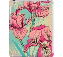 iris flower iPad Case/Skin