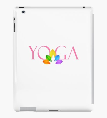 yoga, meditation iPad Case/Skin
