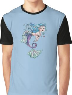 Mermaid Doodle Graphic T-Shirt