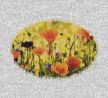 Summer Garden - JUSTART ©  One Piece - Long Sleeve