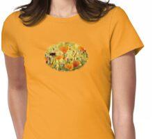 Summer Garden - JUSTART ©  Womens Fitted T-Shirt