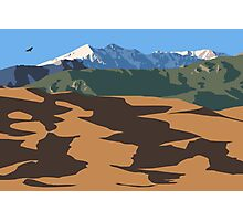 Great Sand Dunes (landscape) Photographic Print