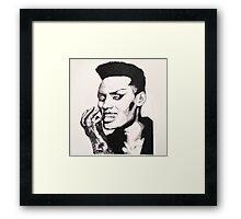 Grace Jones Framed Print