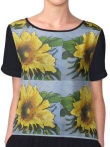 Sunflower Chiffon Top