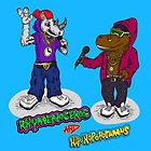 FLIGHT OF THE CONCHORDS - THE HIPHOPOPOTAMUS AND THE RHYMENOCEROS - TOGETHER ON THE ONE SHIRT by ptelling