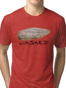 Stone washed  Tri-blend T-Shirt