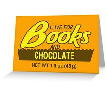 Reese's Books 2 Greeting Card