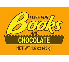 Reese's Books 2 Photographic Print