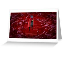 Hyper Light Drifter - Poster - The Fallen Greeting Card