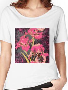 iris flower  Women's Relaxed Fit T-Shirt